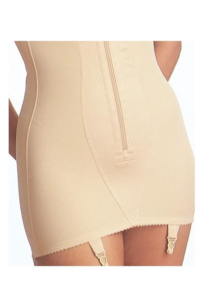 TRIOLET COMBINE body galbant girdle jarretelles suspender ...