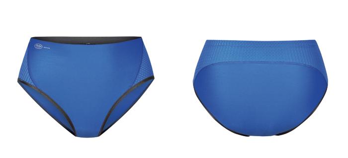 culotte haute de sport bleue