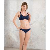 Soutien-gorge d'allaitement grande taille à armatures Miss Dotty 5081 DREAM BLUE