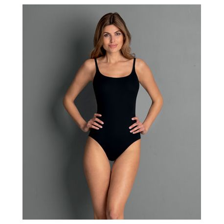 Maillot de bain grande taille à armatures PERFECT BLACK SUIT 7703 NOIR