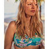Haut de bikini SIBEL TOP 8775-1 PETROLE