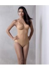 lingerie body gainant grande taille à armatures TWIN 3488 PEAU