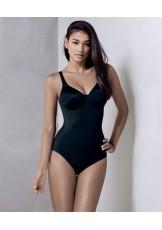 lingerie body gainant grande taille à armatures TWIN 3488 NOIR